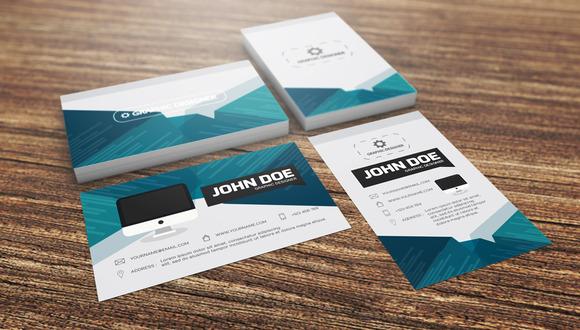 Set Of Modern Business Card Template