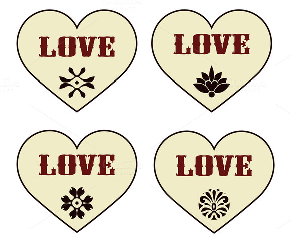 Vector Valentine S Design Elements