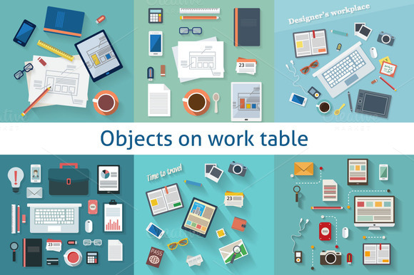 Worktable Objects Collection