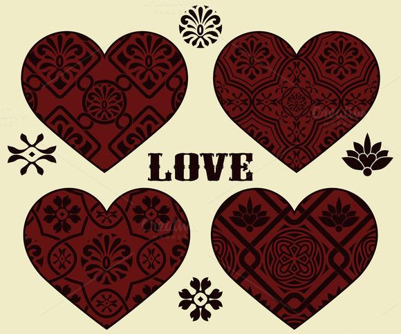 Vector Valentine S Day Design Elemen