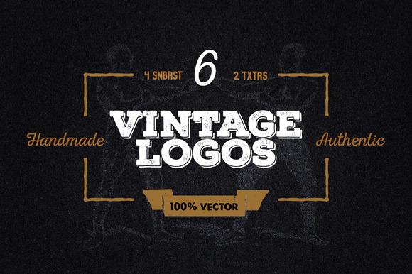 6 Vintage Logos Other Stuff
