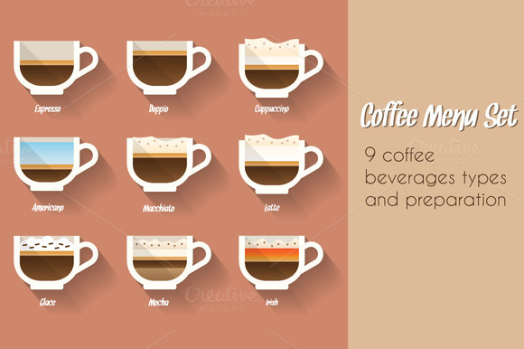 Coffee Menu Set