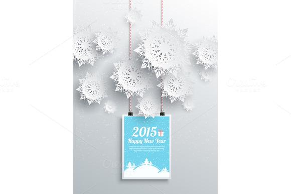 Winter Christmas Sale Design