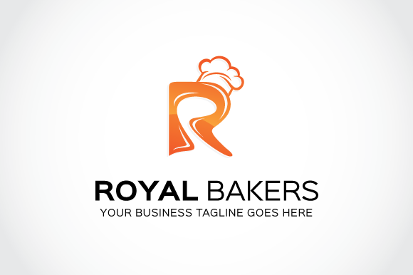 Royal Bakers Logo Template