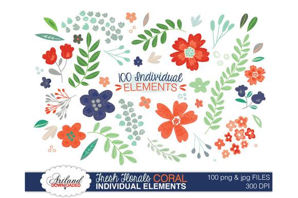 Fresh Florals 100 Item Value Pack