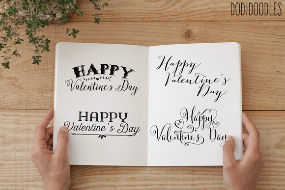 Valentine S Day Text Overlays