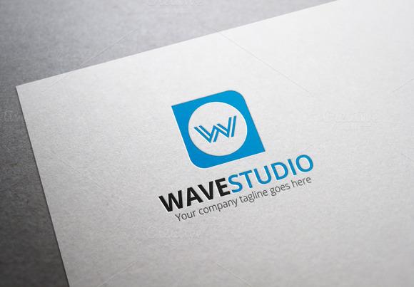 Wave Studio Logo