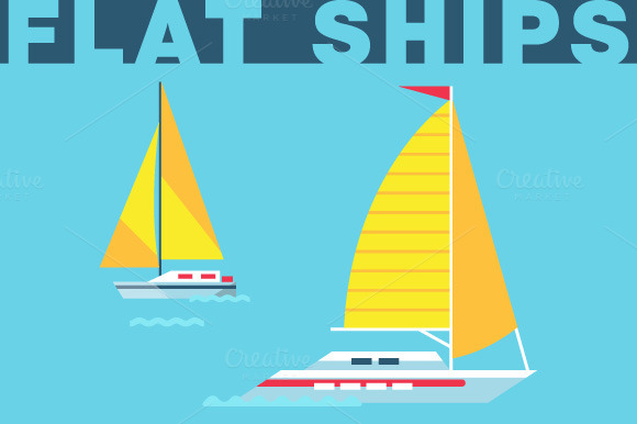 Flat Ships Bundle