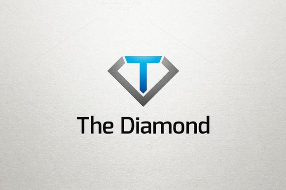 T Diamond Logo