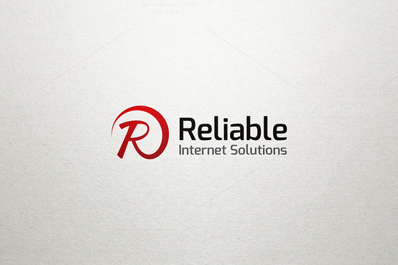 R Letter Logo Reliable