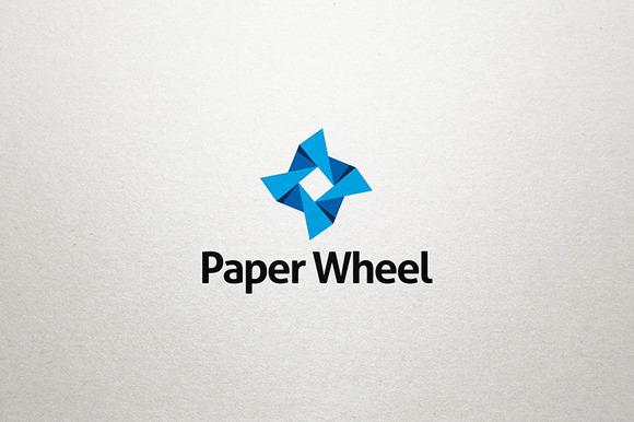 Paper Wheel Logo