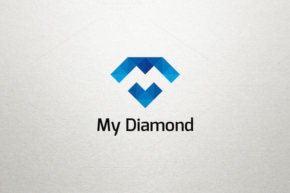 Diamond Pixel Logo