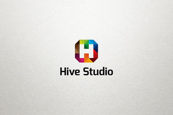H Logo Hive Studio