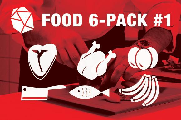 Food Vector 6-Pack #1