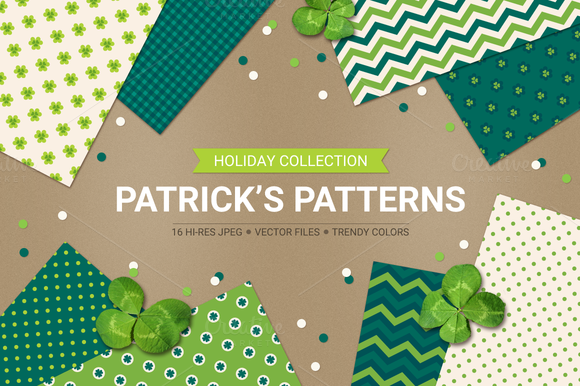 St Patrick S Day Seamless Patterns