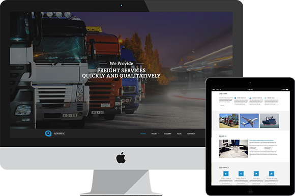 Logistic Freight Services Theme