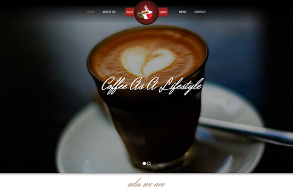 Coffee Time-Cafe Bar Template