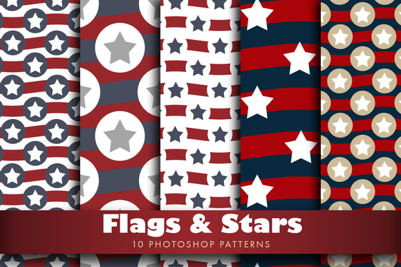 Flags And Stars