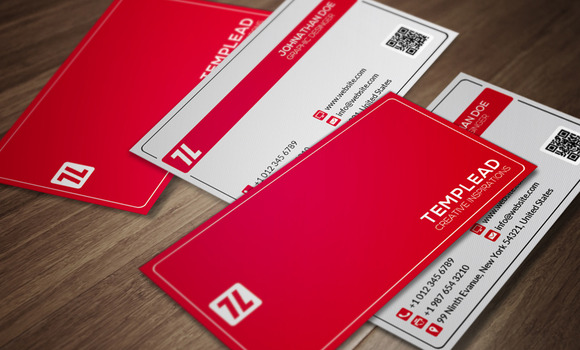 200 Business Card Templates Bundle 1