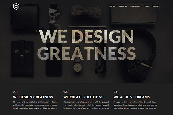 Premira Creative One Page Template
