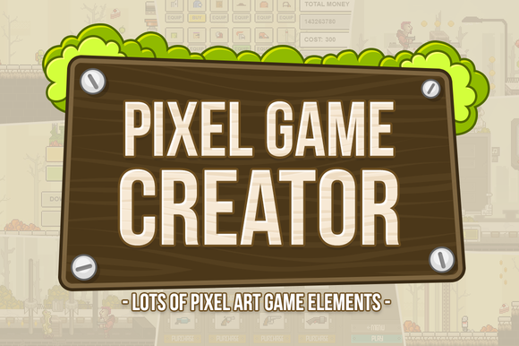 Pixel Game Creator