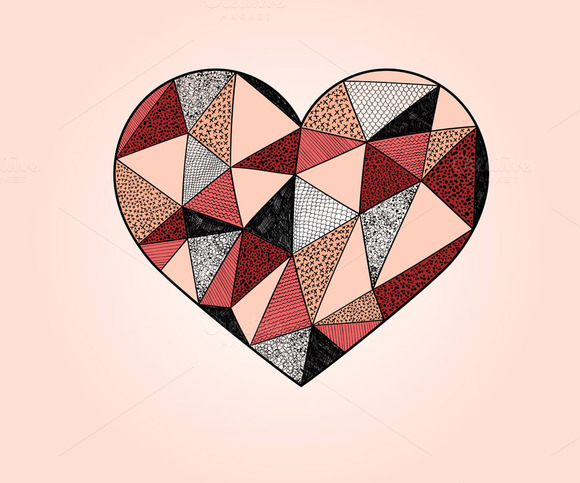 Vector Valentine S Design Element