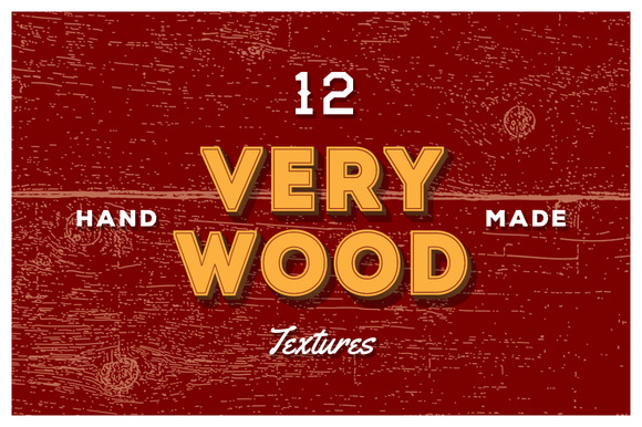12 Very Wood Vector Textures