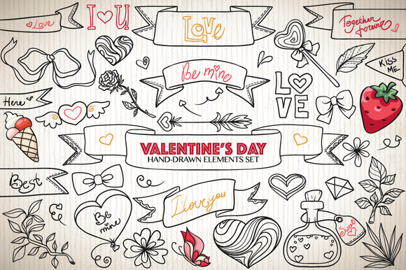 Valentine Elements Pack