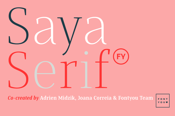 Saya Serif FY Medium