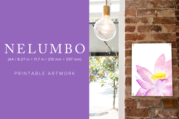 Nelumbo Printable Artwork