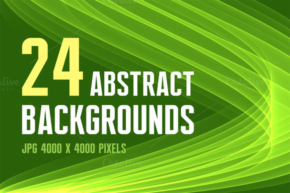 24 Abstract Backgrounds