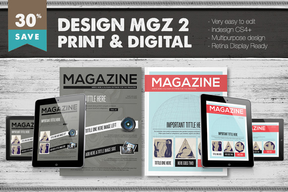 Design Magazine 2 Bundle