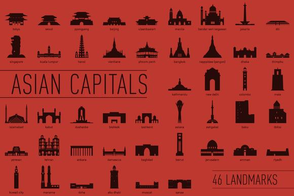 Asian Capital Landmarks