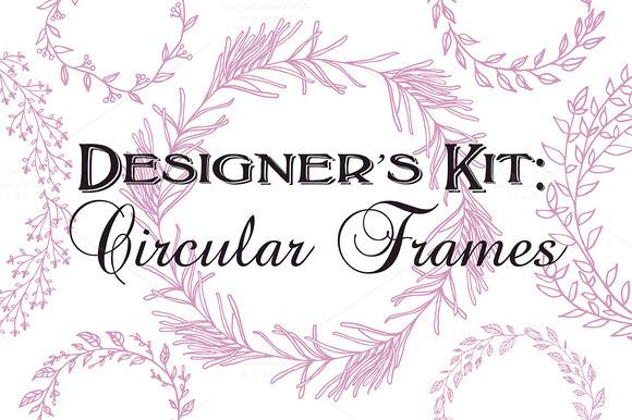 Designer S Kit Circular Frames