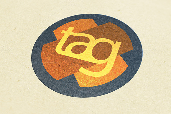 Tag Logo Template