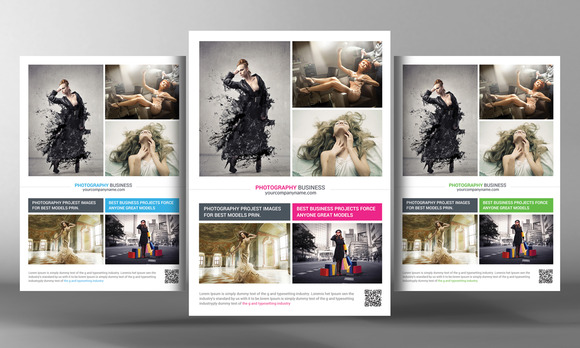 Photography Business Flyer Template