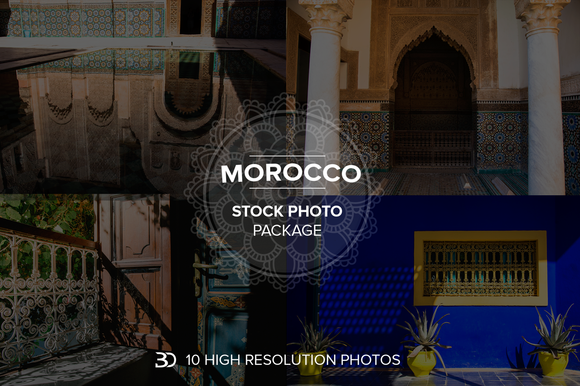 Moroccan Stock Photo Pack