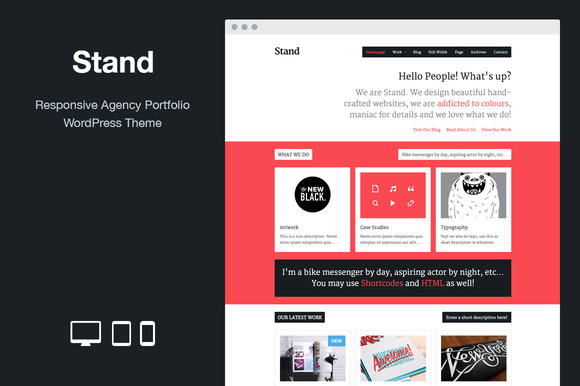 Stand Responsive WordPress Theme