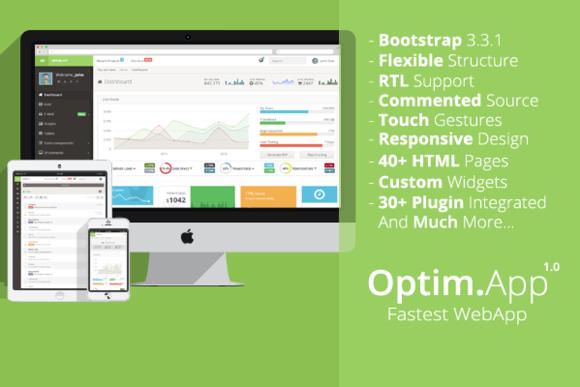 Optim.App Fastest WebApp Admin