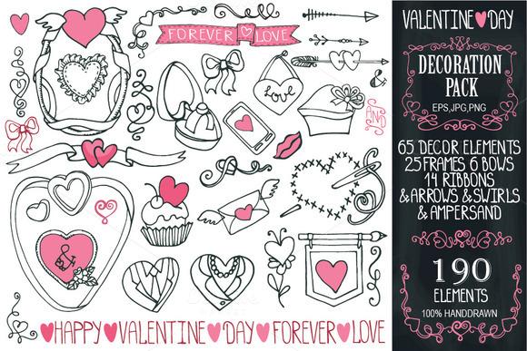 Big Valentines Day Decoration Kit 1