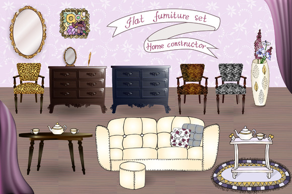 Home Interior Furniture Set