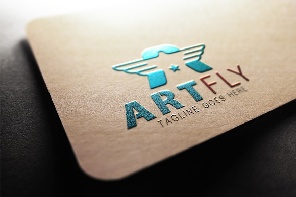ART FLY Logo Template