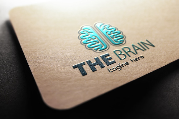 The Brain Logo Template