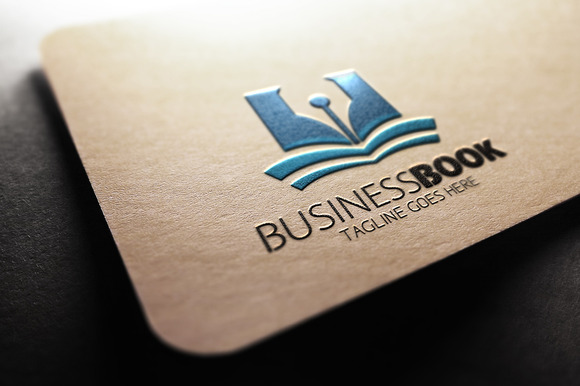 Business Book Logo