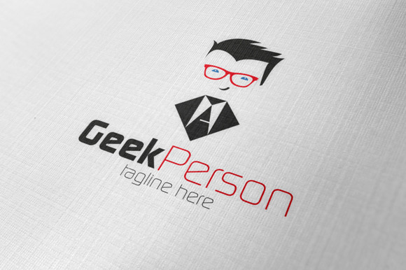 Geek Person Logo