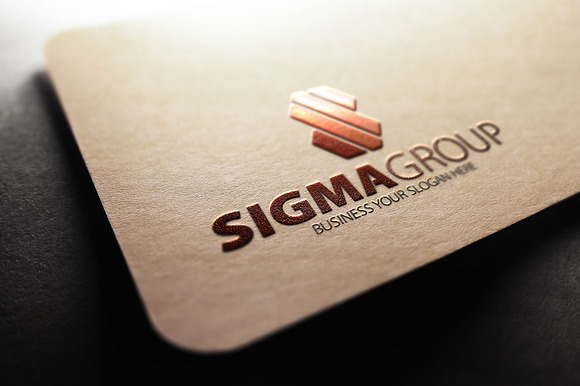 Sigma Group S Letter Logo