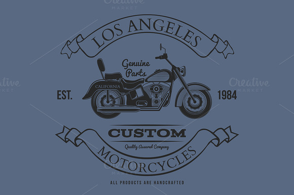 Motorcycle Vintage Graphics T-shirt