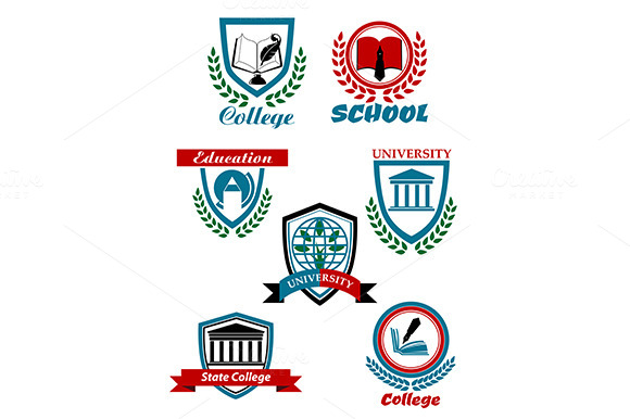 Heraldic Emblems For School College