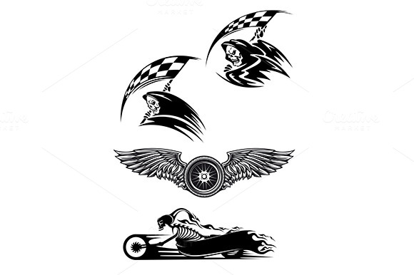 Motocross And Racing Tattoos