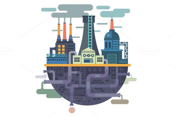 Industrial Landscape Factory